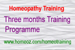 Homoeopathy Training